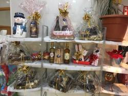 bandeja de productos variados de navidad